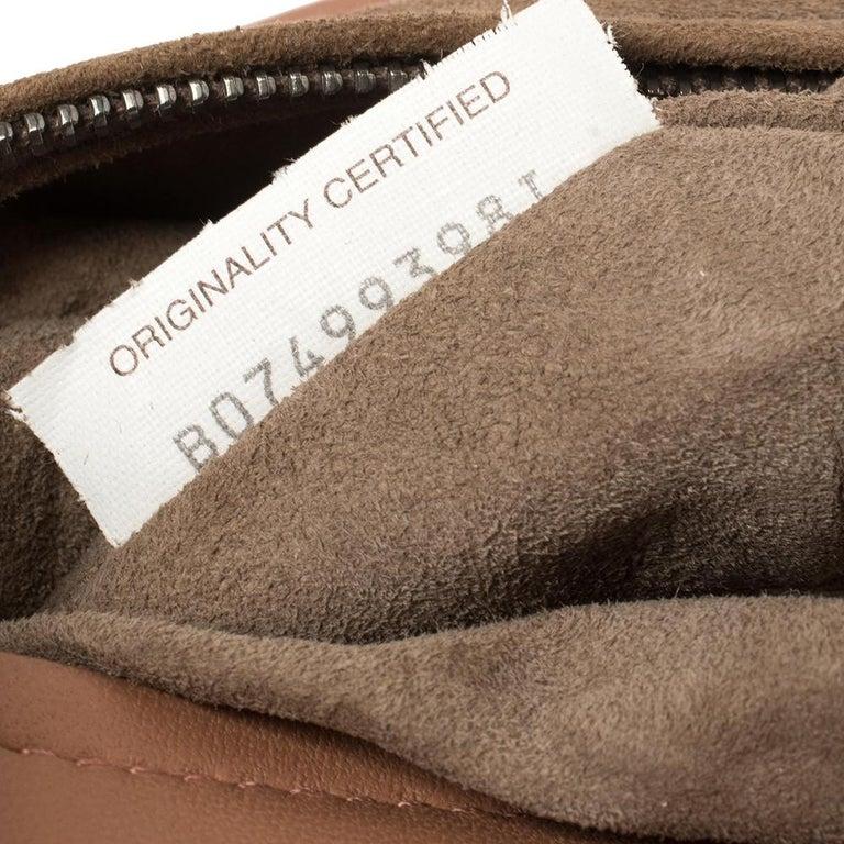 Bottega Veneta Pink Intrecciato Leather Alumna Top Handle Bag 3