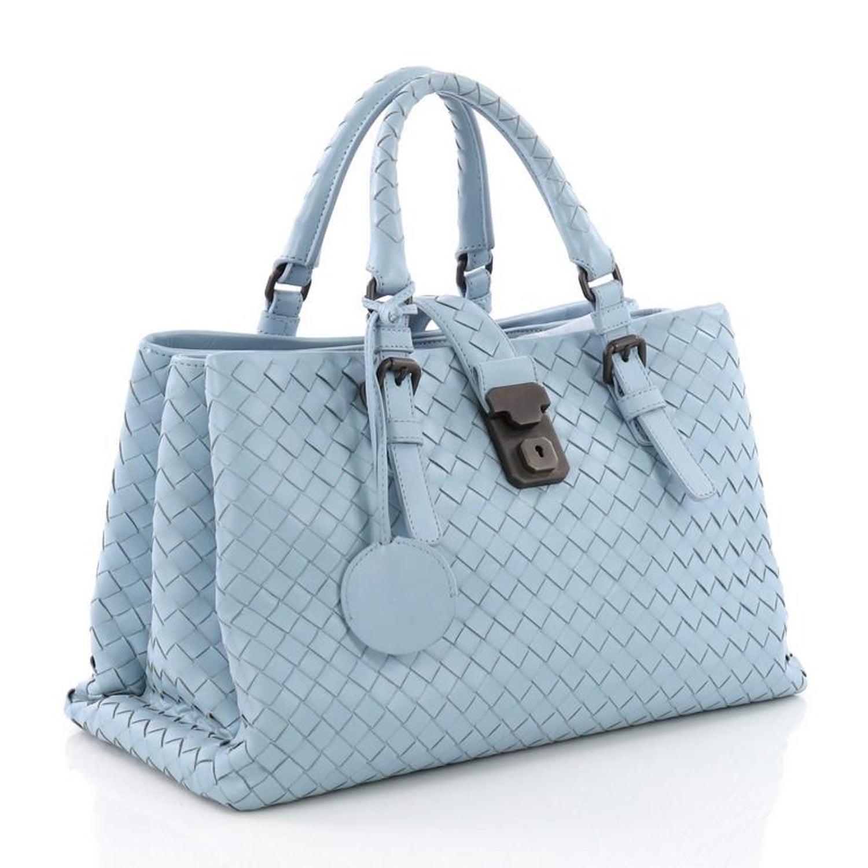 63e4d78d8284 Bottega Veneta Roma Handbag Intrecciato Nappa Small at 1stdibs