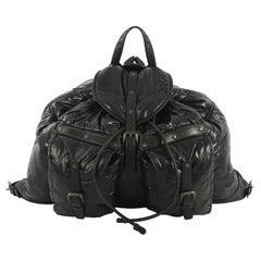 Bottega Veneta Spinnaker Backpack Nylon Large