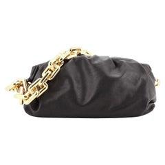 Bottega Veneta The Chain Pouch Leather