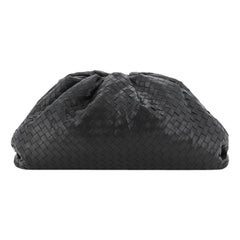 Bottega Veneta The Pouch Intrecciato Leather Large