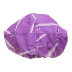 Bottega Veneta Violet Tye Dye Leather Large Aquilone Fortune Cookie Hobo