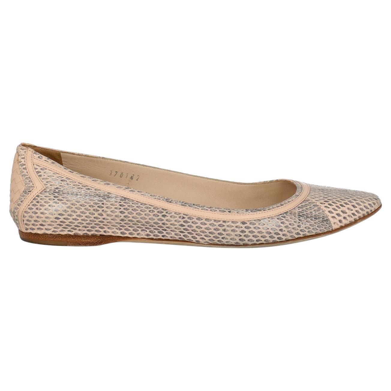 Bottega Veneta Woman Ballet flats Pink Leather IT 37