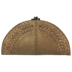 Bottega Veneta Woman Clutch bag Gold