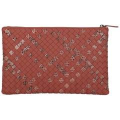 Bottega Veneta Woman Clutch bag Red