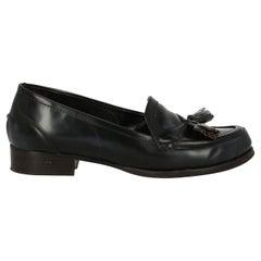 Bottega Veneta Woman Loafers Black, Navy EU 37