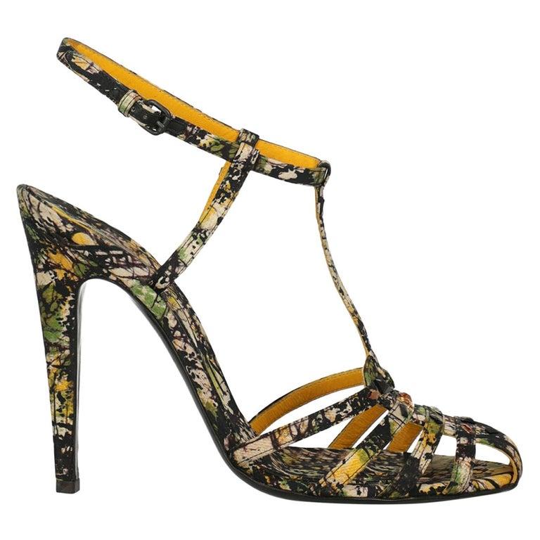 Bottega Veneta Woman Sandals Black Fabric IT 39.5