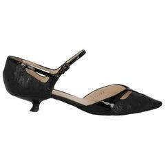 Bottega Veneta Woman Shoes Pumps Black Leather EU 37