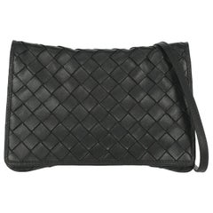 Bottega Veneta Woman Shoulder bag  Black Leather