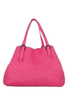 Bottega Veneta  Women   Shoulder bags   Pink Leather