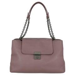 Bottega Veneta  Women   Shoulder bags  Purple Leather