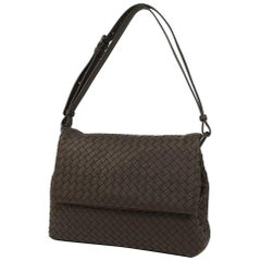 BOTTEGAVENETA BOTTEGA VENETA Intrecciato Womens shoulder bag brown