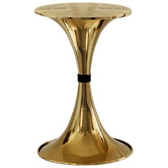 Botti Side Table in Brass