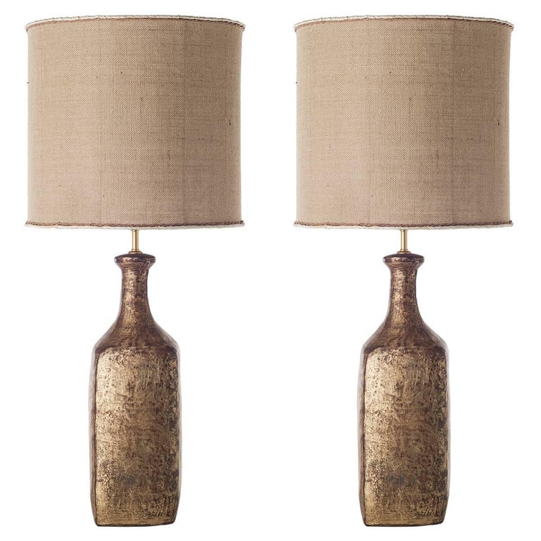 Bottle Ceramic Table Lamps For Sale
