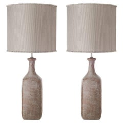 Contemporary Ceramic Table Lamps, Bottle Shape