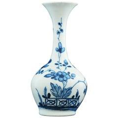 Bottle Vase, Bow Porcelain Factory, circa 1747