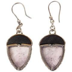 BOTTTEGA VENETA sterling silver ACORN Drop Earrings