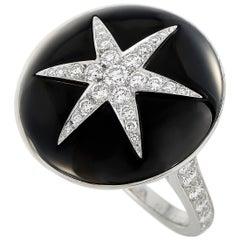 Boucheron 18 Karat White Gold 1.50 Carat Diamond Ring