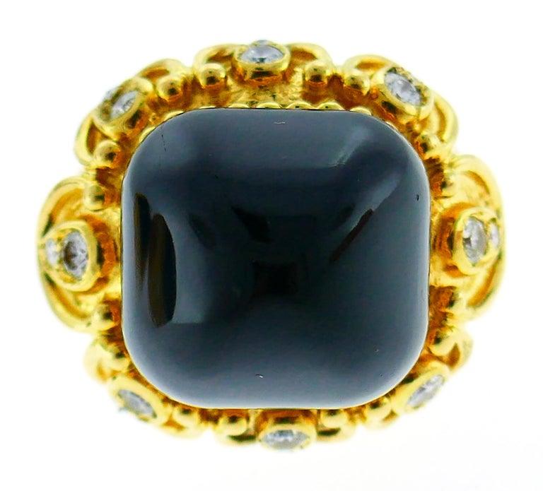 Boucheron Coral Gold Bangle Bracelet Ring Earrings Set, 1970s For Sale 4