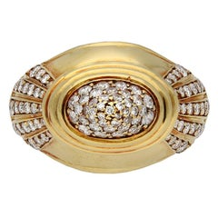 Boucheron Diamond and Gold Dress Ring