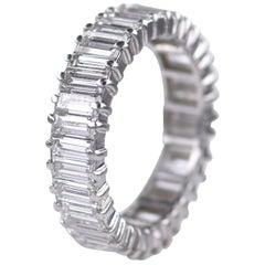 Boucheron Diamond and Platinum Eternity Engagement Ring