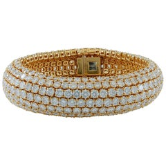 Boucheron Diamond Flexible Bombe Bracelet