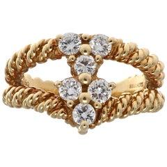 Boucheron Diamond Gold Ring