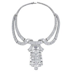 Boucheron Diamond Necklace/Brooch