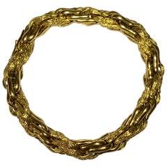 Boucheron/Georges Lenfant 18 Carat Gold Bracelet, circa 1960