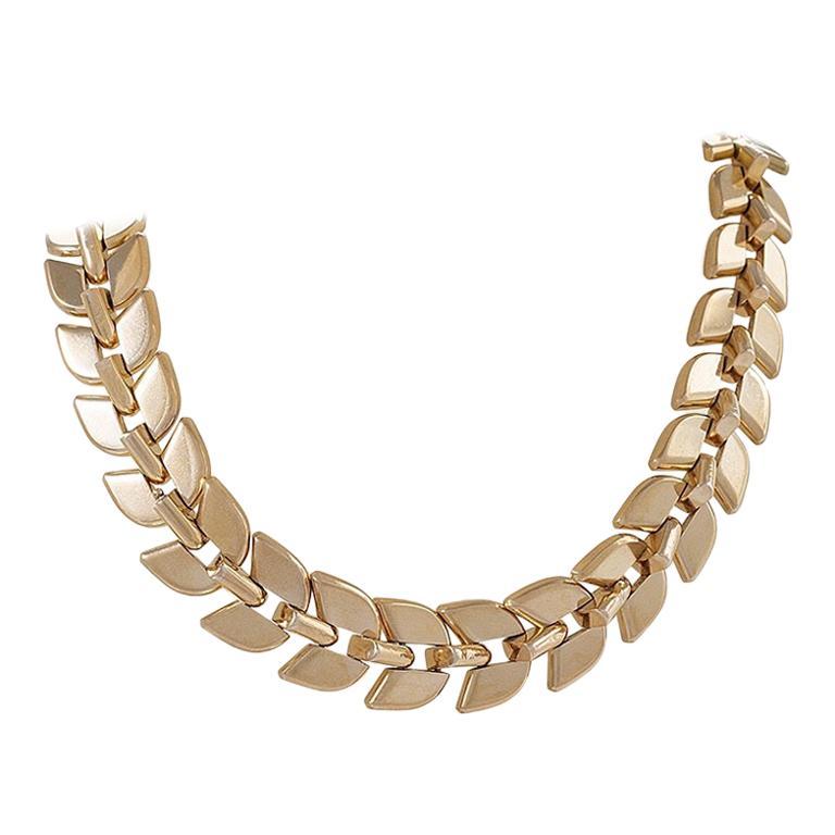 Boucheron Gold Convertible Necklace For Sale