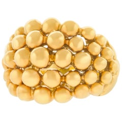 "Boucheron ""Grains de Raisins"" Gold Ring"