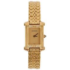 Boucheron Ladies Yellow Gold Dress Wristwatch