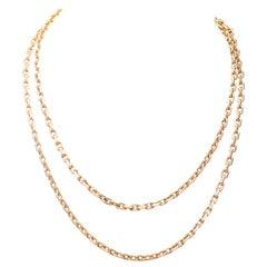 Boucheron Paris 18 Karat Gold Chain