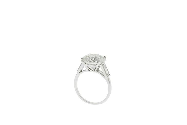 Boucheron Paris 4.76 Carat GIA Certified Round Brilliant Engagement Ring 2