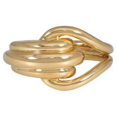 Boucheron, Paris Estate Gold Knot Motif Ring