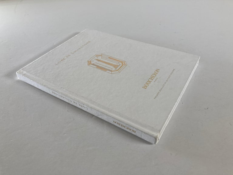 Neoclassical Boucheron Paris First Art Jeweler of the Place Vendome Hardcover Book For Sale