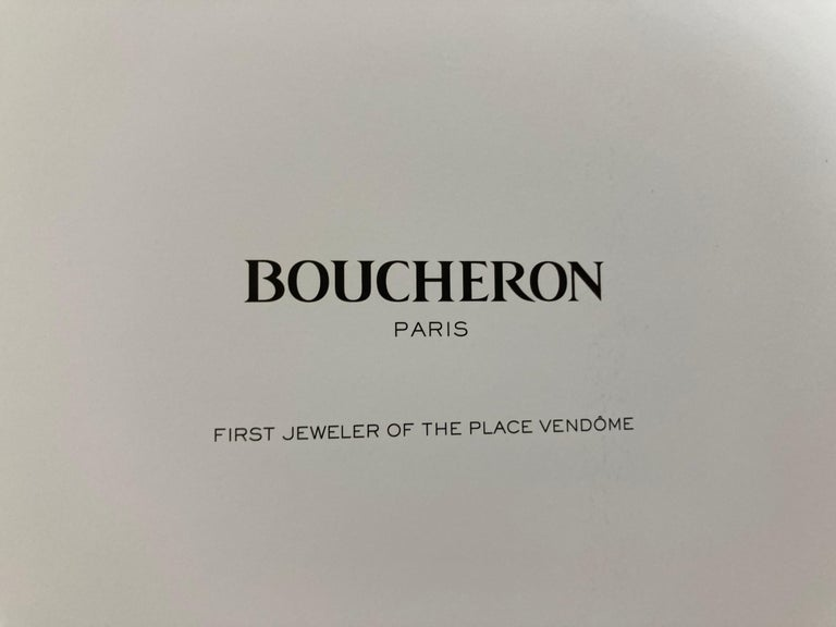 Boucheron Paris First Art Jeweler of the Place Vendome Hardcover Book For Sale 1