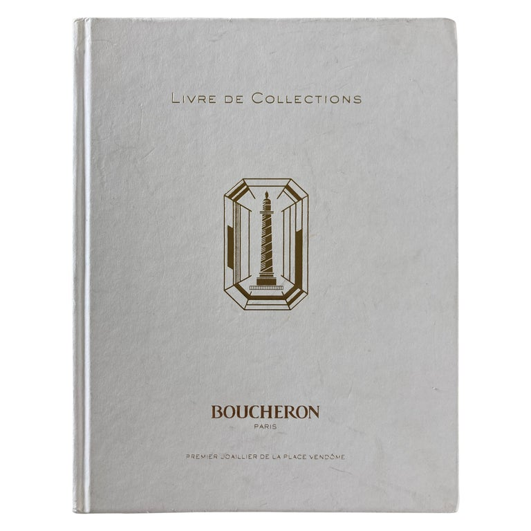 Boucheron Paris First Art Jeweler of the Place Vendome Hardcover Book For Sale