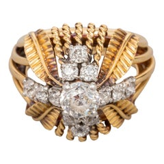 Boucheron Paris Gold and Diamonds Ring