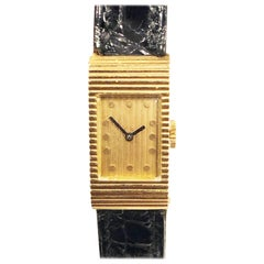 Boucheron Paris Gold Wristwatch Owned and Worn by Hollywood Icon Jerry Lewis
