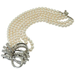 Boucheron Pearl, Diamond Bracelet