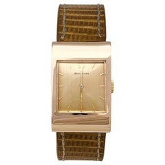 "Boucheron ""Reflet"" Watch, Rose Gold and Leather Bracelet"