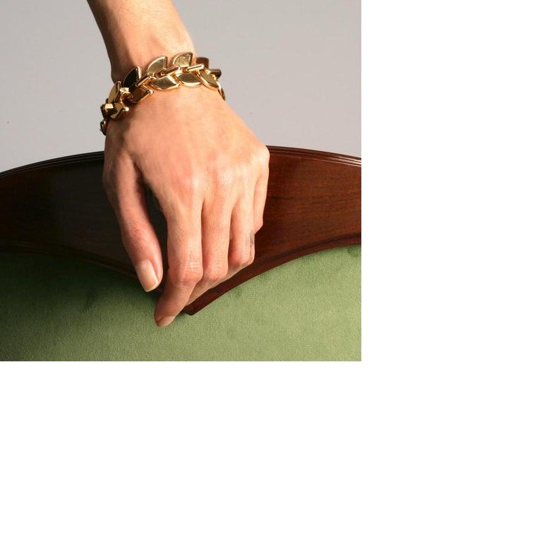 Women's Boucheron Retro Gold 'Epis' Bracelet For Sale