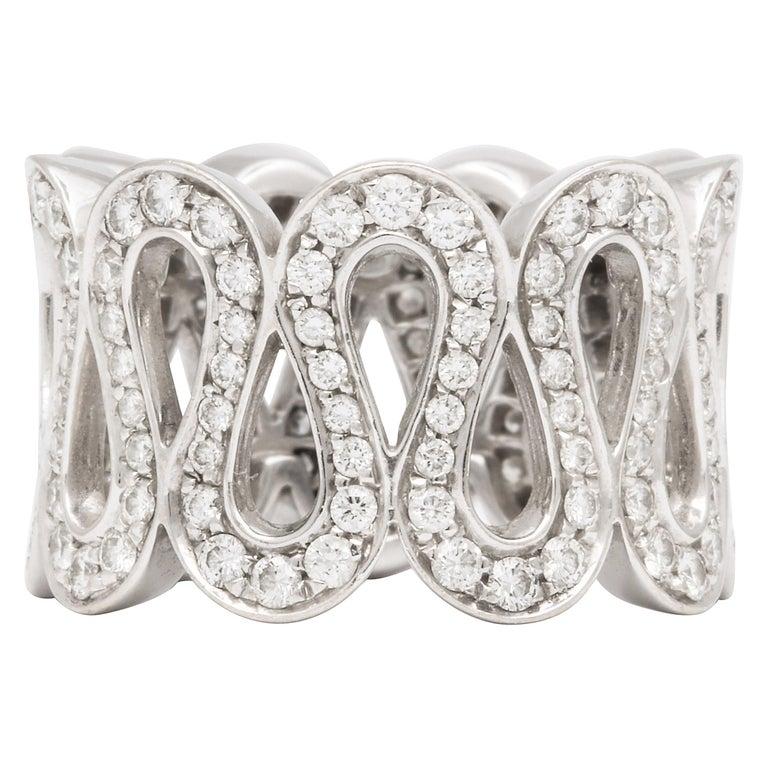 "Boucheron ""Richelieu"" Diamond Ring For Sale"