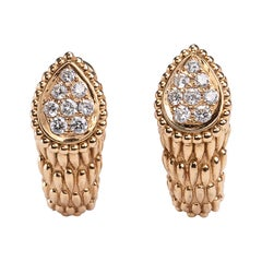 "Boucheron ""Serpent Bohème"" Diamond Earrings"