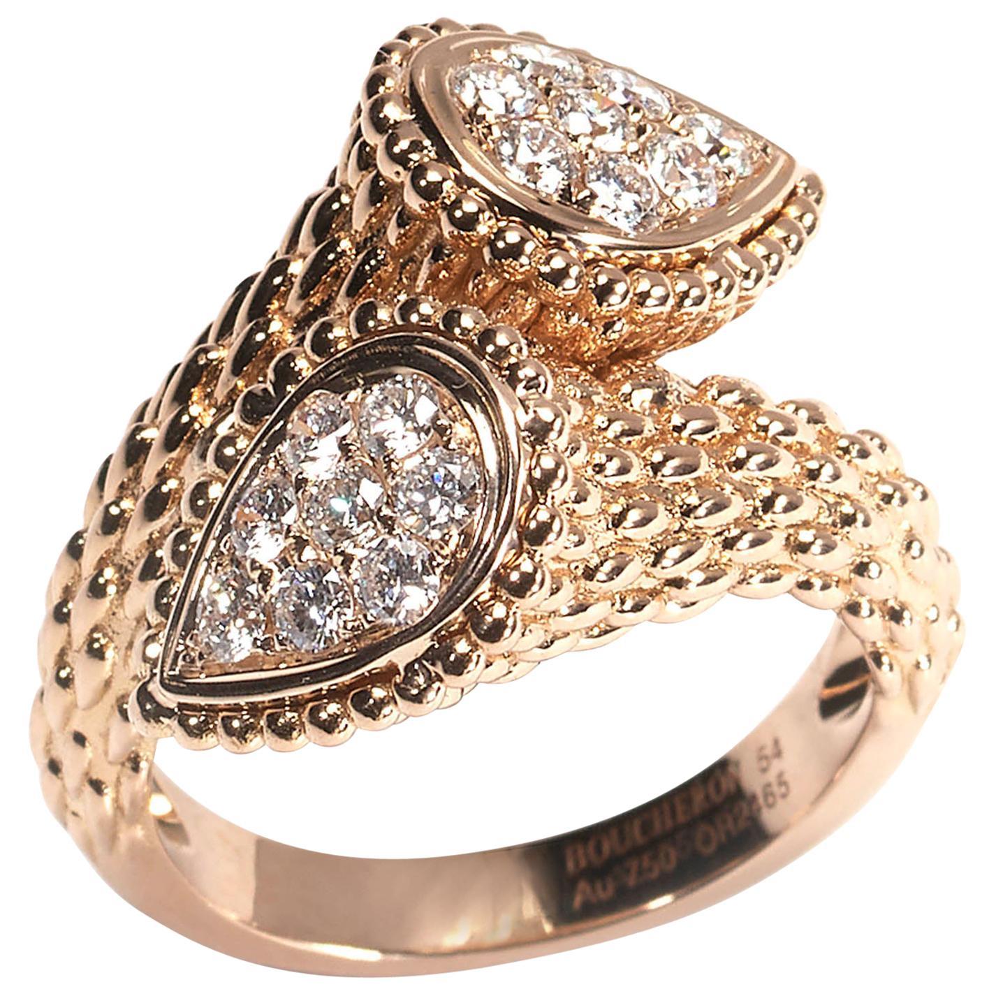 """Boucheron """"Serpent Bohème"""" Diamond Ring"""