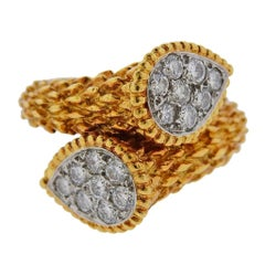 Boucheron Serpent Boheme Gold Diamond Ring