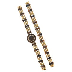 Boucheron Tiger's Eye Watch and Bracelet Set