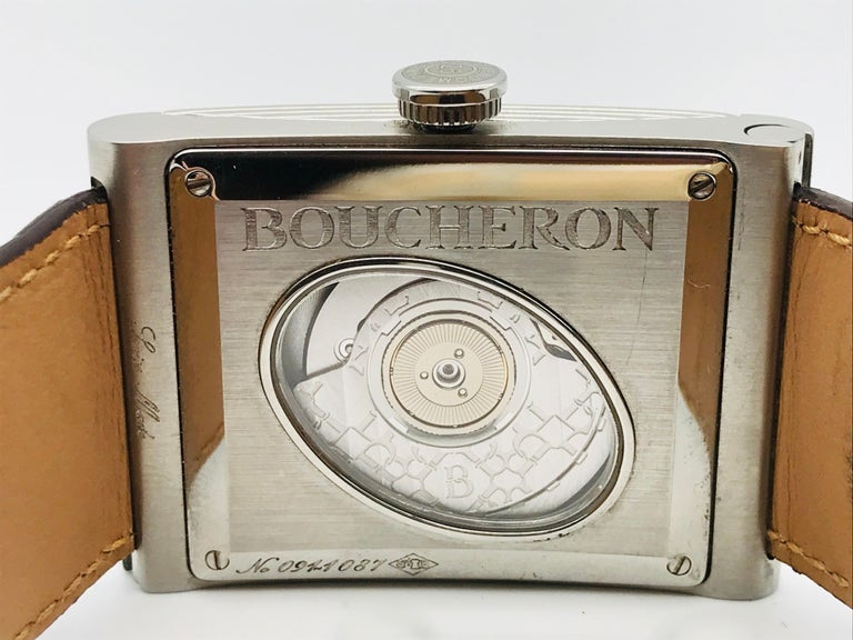 Boucheron Watches Reflet XL Automatic Anniversary 150 Years For Sale 10