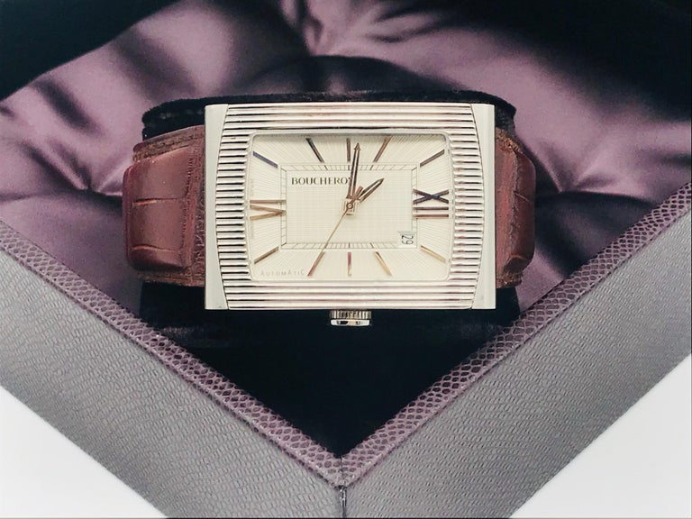 Boucheron Watches Reflet XL Automatic Anniversary 150 Years For Sale 12